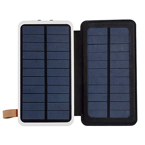 WEINANA 300000MA Solar Power Bank Waterproof Charge Pal Creative Portable Power Source with Camping Light for Mobile Phone