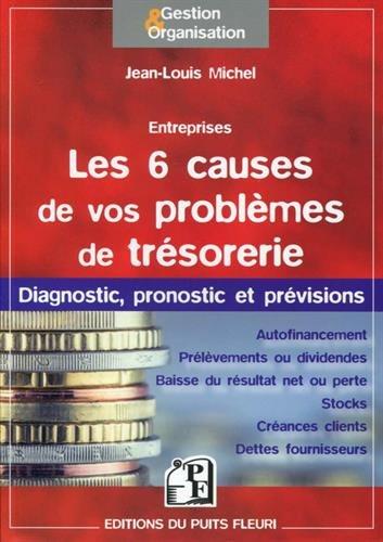 Les 6 causes de vos problèmes de trésorerie: Diagnostic, pronostic et prévisions.