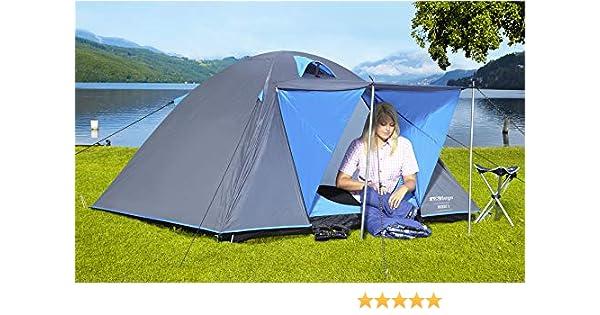 BERGER Kuppelzelt Hobby 3 Trekking Festivalzelt Campingzelt