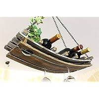 5089coperta 65cm in legno porta vino rack portabottiglie vino rack