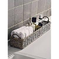 Riviera Maison Rustic Rattan - Aufbewahrungskorb - Rectangular Basket - für Küche und Bad