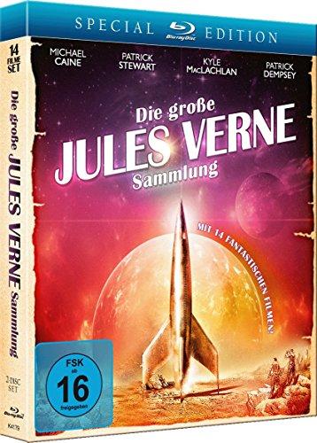 Bild von Die grosse Jules Verne Sammlung (14 Filme Set) [Blu-ray] [Special Edition]