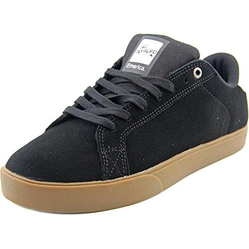 Emerica The Leo NS Daim Chaussure de Basket Black-Gum