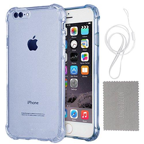 """Hülle für iPhone 7/8 Plus, xhorizon Transparente Handyhülle mit Hartplastik und weicher TPU Gel zum Schutz vor Stößen für iPhone 7 Plus/ iPhone 8 Plus [5.5""""] #4"""