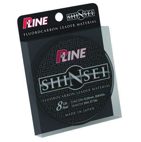 P-Line Shinsei 100 Prozent reines Fluorocarbon Vorfachmaterial, 10-Pound -
