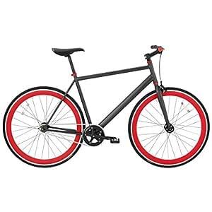 Vélo De Ville Homme Bh Fixie Anthracite 2016 - M