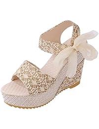 Ladin Mujer Zapatos de Plataforma