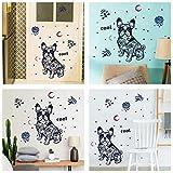 Demana Wandaufkleber Hund Kinder Kindergarten Vergnügungspark Wanddekoration Landschaftsgestaltung Wandbild Aufkleber