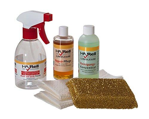 HARell Linoleum Pflegeset - Reiniger Repair-Pflegeset