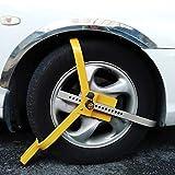 Yahee Radkralle Stahl Diebstahlsicherung Wohnwagen für Wegfahrsperre Anhänger 13 bis 17 Zoll