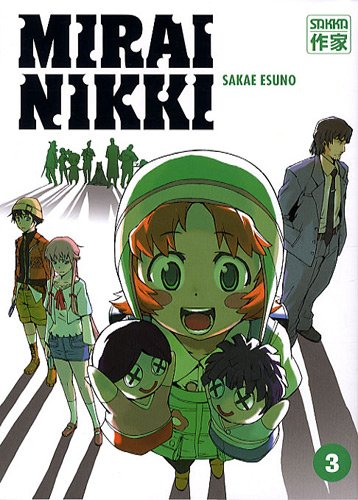 Mirai Nikki - Le journal du futur Vol.3