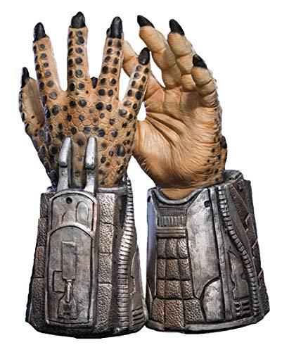 Predator Latex Handschuhe als Kostümzubehör & Sammlerstück