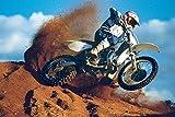 empireposter Motorcycles-Motocross-Desert Motorräder Poster Plakat-Grösse 61x91,5 cm, Papier, bunt, 91.5 x 61 x 0.14 cm