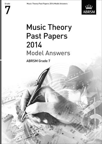 Music Theory Past Papers 2014 Model Answers, ABRSM Grade 6 by ABRSM (2015-01-08)