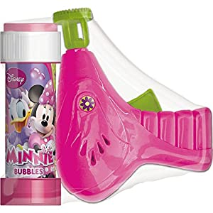 Pistola Burbujas + pompero Minnie Disney