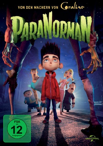 ParaNorman (Coraline Film-dvd)