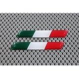 Sticker drapeau Italie Ducati 7,6x 1,3cm