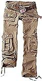 Juicy Trendz Frau Hosen Armee Militär Damen beiläufig Ladung keuchen Khaki S