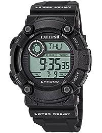 Calypso Señor Reloj de pulsera cuarzo reloj reloj de plástico con Poliuretano banda de alarma Cronógrafo digital todos los modelos k5694, variante: 06