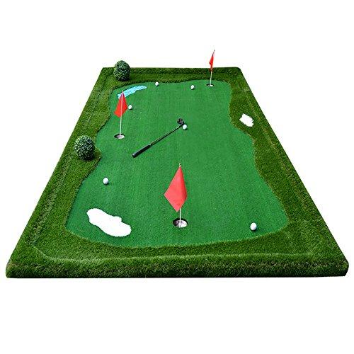 TLMY Golf-Indoor-Trainingsmatte Putting Praxis Matte 2 Größe Optional Golfmatten (größe : 5×2m)