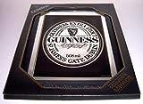 Guinness Label Logo black neu Nostalgie Barspiegel Spiegel Bar Mirror 22 x 32 cm