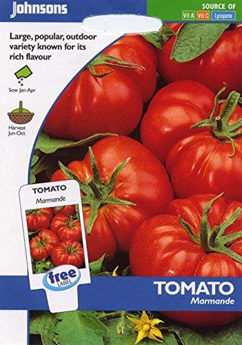 Johnsons Samen, Pictorial Pack Gemüse Tomate Marmande 50 Samen