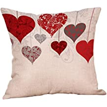 Fundas de Cojines,SHOBDW Regalo de San Valentin Funda de Almohada Sweet Love Boda romántica