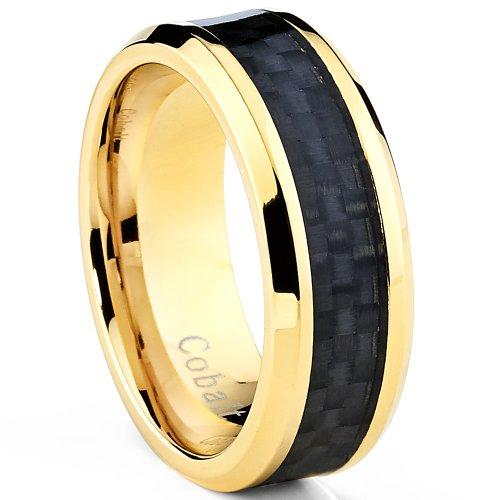 ultimate-metals-co-alliance-en-cobalt-chrome-incruste-fibre-de-carbone-noire-bague-de-mariage-cobalt