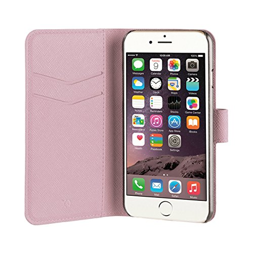 Xqisit 26885 Schutzhülle Wallet Viskan für Apple iPhone 7 grün roségold