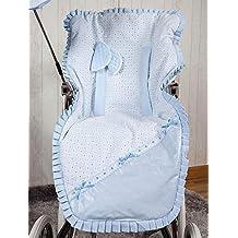 Babyline Love - Colchoneta para silla de paseo, color azul