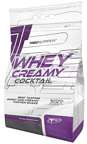 Trec Nutrition Whey Creamy Cocktail Protein Shake Molkenprotein Casein Eiweißshake Supplement Bodybuilding (2275g Creamy Vanilla - Vanille Creme)