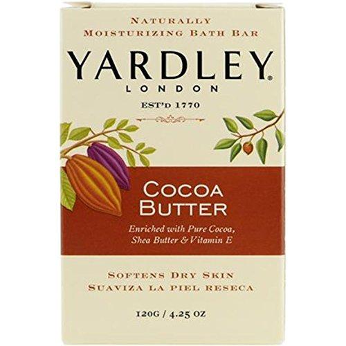Yardley Cocoa Butter Bar Soap 120g/4.25 oz