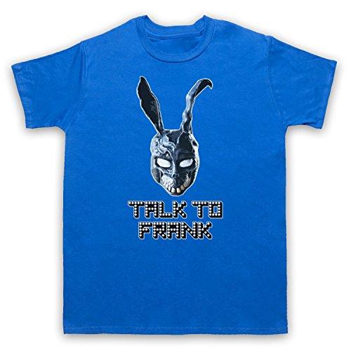 Inspiriert durch Donnie Darko Talk To Frank Unofficial Herren T-Shirt Blau