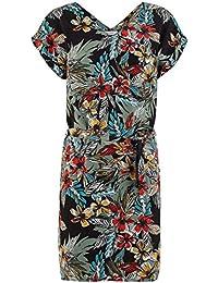 Promod Kleid mit exotischem Print