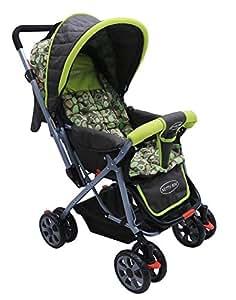 Notty Ride Baby Pram (Green)