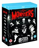 Universal Classic Monsters The - Universal Classic Monsters: The Essential Collection (8 Blu-Ray) [Edizione: Regno Unito] [Edizione: Regno Unito]