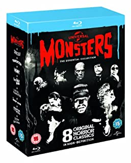 Universal Classic Monsters - The Essential Collection [Blu-ray] [1931] [Region Free] (B008H45YSO) | Amazon Products
