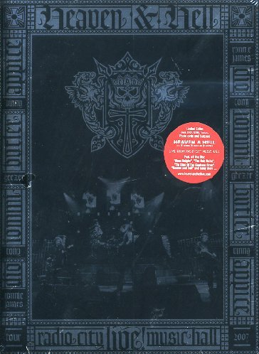 Heaven & Hell - Live From Radio City Music Hall (+ Audio-CD) [Limited Edition] [3 DVDs]