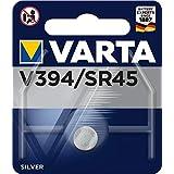 VARTA 394101111 - Batteria a Bottone V394/ SR45, Specialisitica, Ossido D'argento, 1,55 Volts, Diametro 9,5 mm, Altezza 3,6,