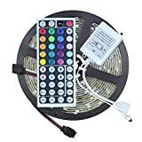 Mufasa Waterproof Led Strip RGB with Remote and Adapter (Multicolour, 5050)