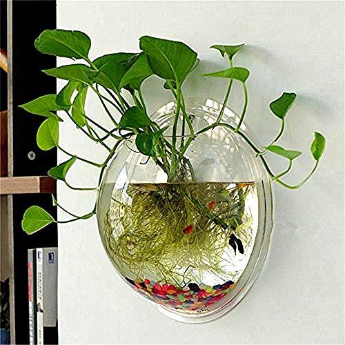 Cosanter - Vasi trasparenti per fiori in acrilico, creativo, vasi da appendere, multifunzione, acquario per piante, fiori, pesci