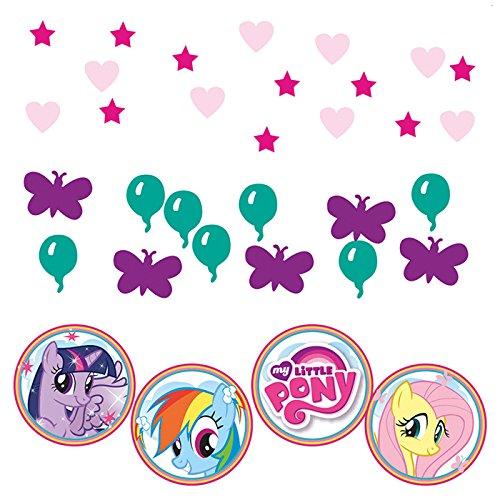PARTY DISCOUNT NEU Konfetti My Little Pony, 3 Motive, 34 g