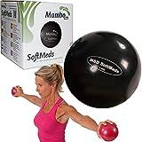 MSD SOFTMED 3kg Medizinball 12cm weich aufblasbar Kugel Gewichte Pilates Fitness