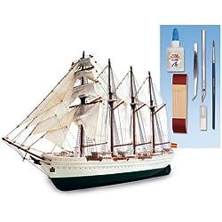 Maqueta de barco en madera y plástico: Juan Sebastián Elcano -NOVEDAD