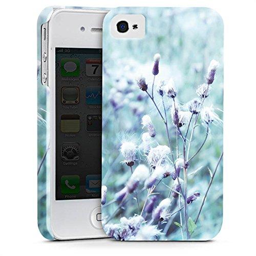 Apple iPhone 6 Plus Silikon Hülle Case Schutzhülle Wiese Blumen Natur Premium Case glänzend