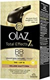 Olaz Total Effects 7-in-1 BB Cream Touch of Foundation, Hell, Pumpe, 50 ml