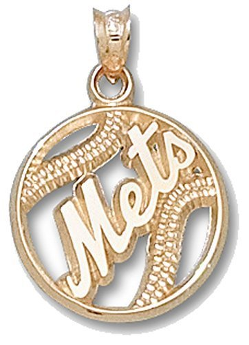mlb-new-york-mets-pierced-baseball-pendant-10k-yellow-gold-by-logo-art