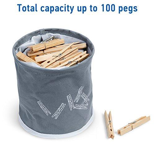 @ Tatkraft PEGGY Cesto Porta Mollette Resistente all'Acqua con Set di 20 Mollette 19 x 18,5 cm recensioni dei consumatori