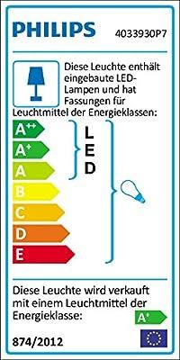 Philips Hue LED Pendelleuchte Fair inkl. Dimmschalter, alle Weißschattierungen, steuerbar auch via App, weiß, 4033931P7 von Philips bei Lampenhans.de