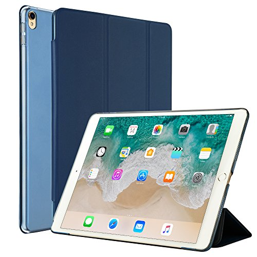 XORB Luxury Revel Touch PU Leather Cover for Apple iPad Pro 12.9 inch  Blue